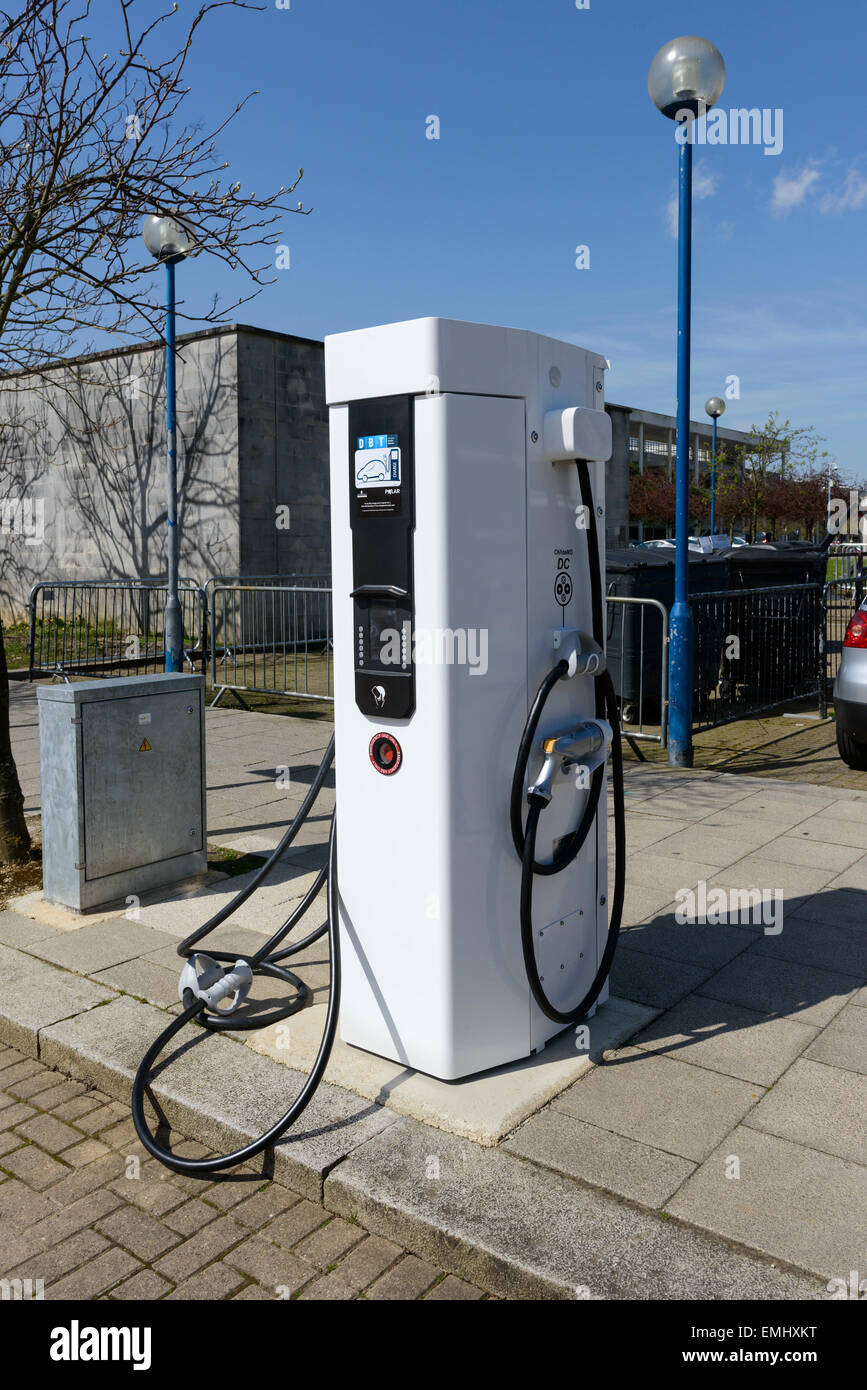 DBT Electric Vehicle Charger - Stock Image