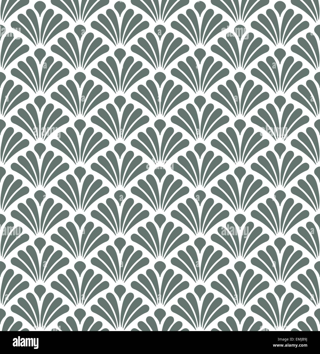Geometric abstract seamless pattern motif background - Stock Image