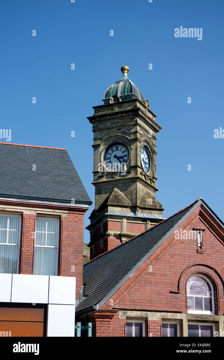 Gwent Archives and Genealogy Centre, Ebbw Vale, Blaenau Gwent, Wales, UK - Stock Image