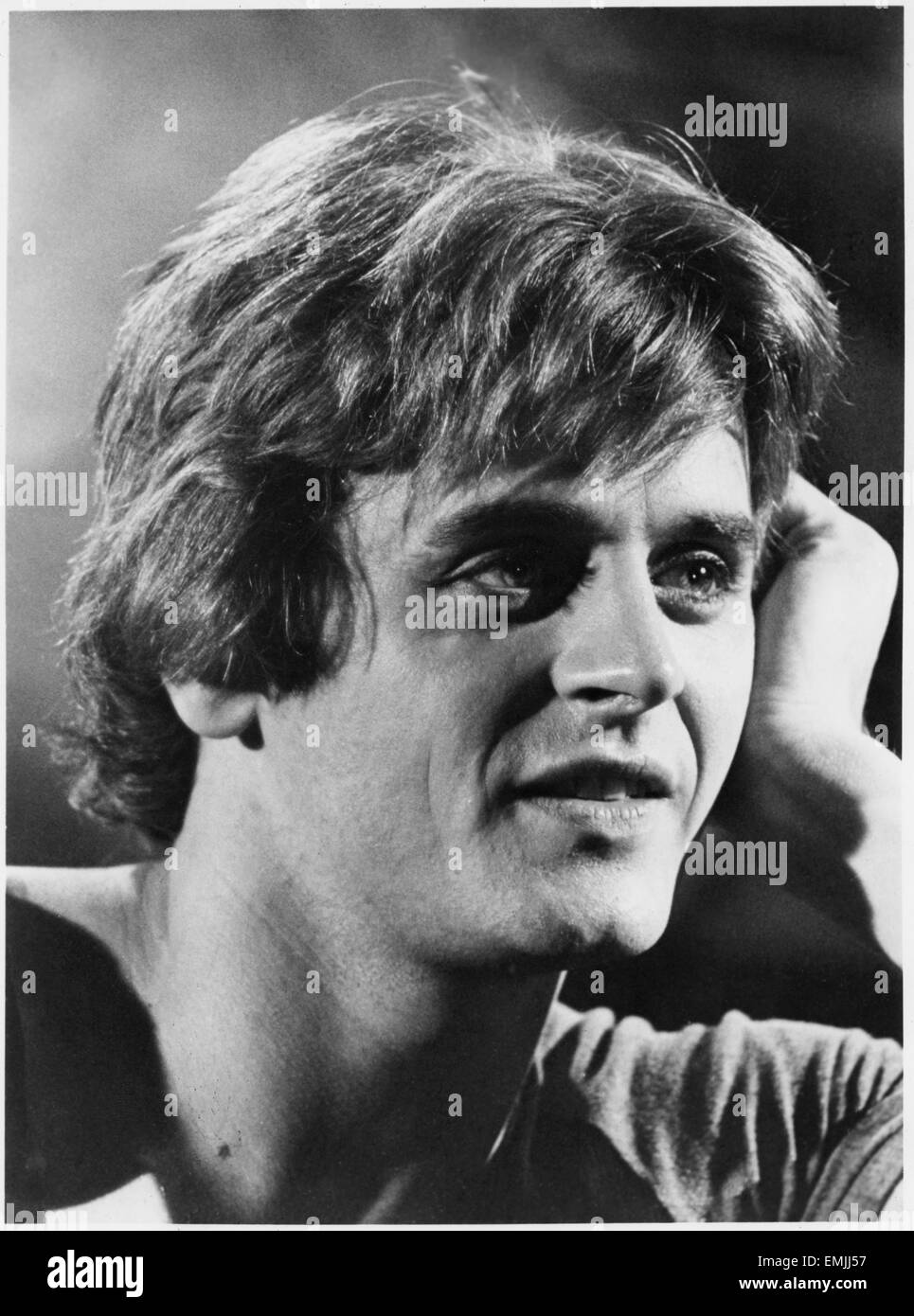 Mikhail Baryshnikov, Portrait, on-set of the Film 'The Turning Point', 1977 - Stock Image