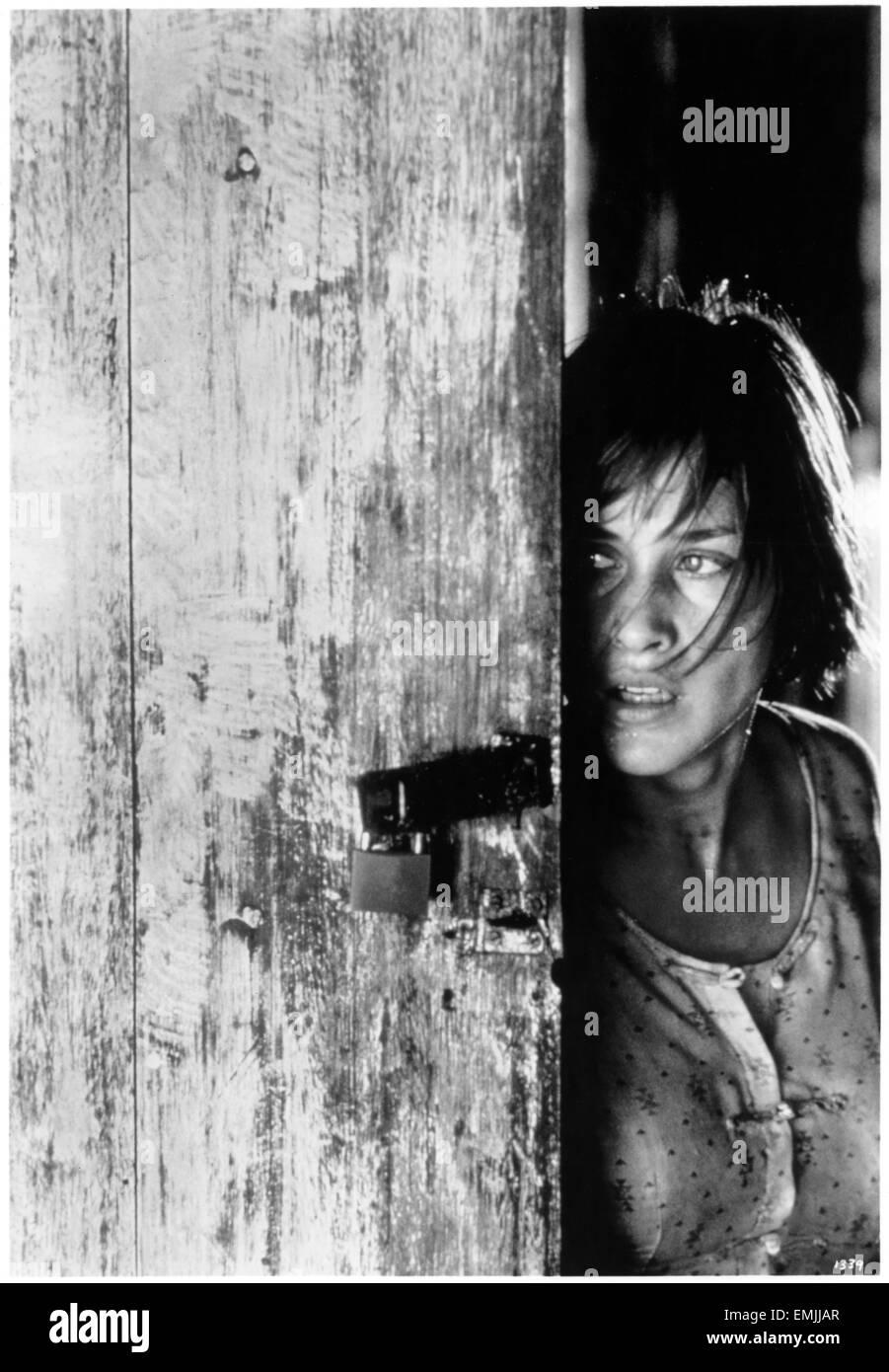 "Patricia Arquette, on-set of the Film ""Beyond Rangoon"", 1995 - Stock Image"