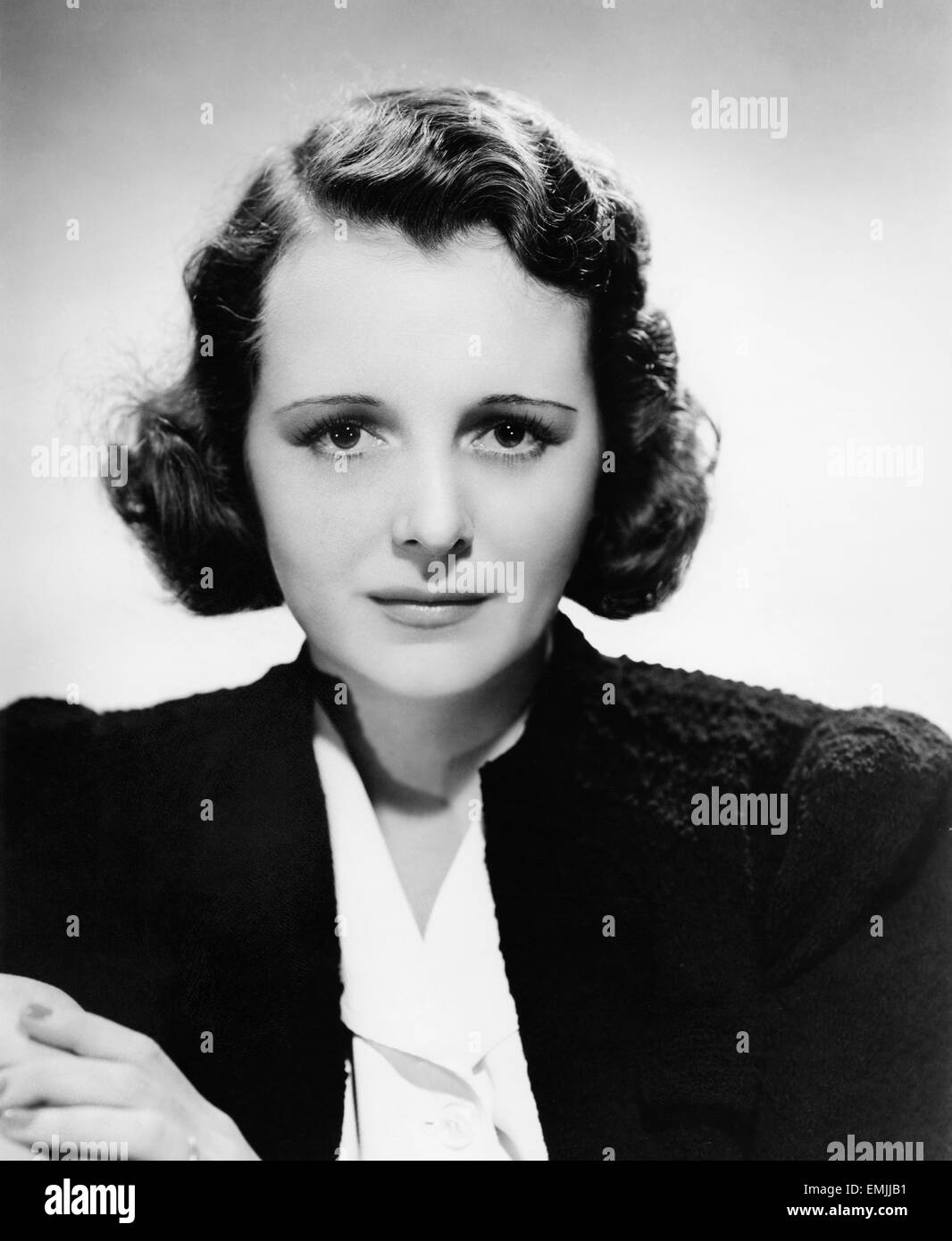 Mary Astor, Publicity Portrait for the Film 'Listen Darling', 1938 - Stock Image