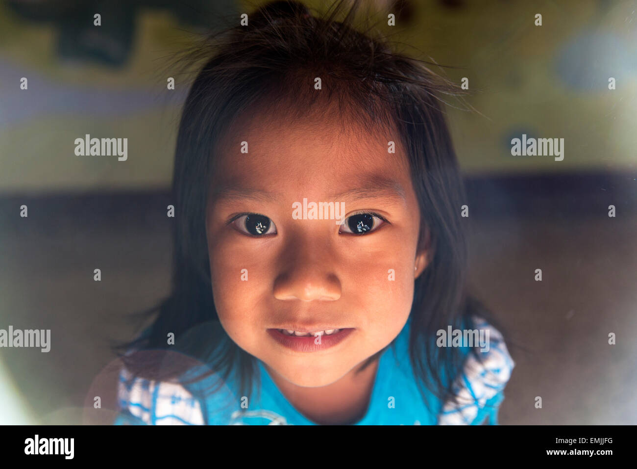 Guatemala, children in a nutrition center recovering from malnutrition - Stock Image
