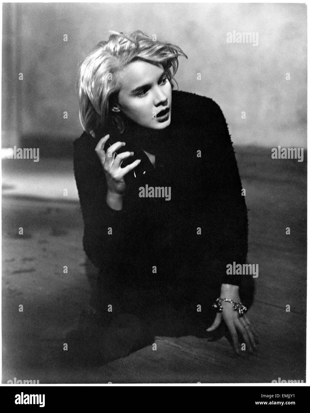 Carroll Baker, on-set of the Film 'Baby Doll', 1956 - Stock Image