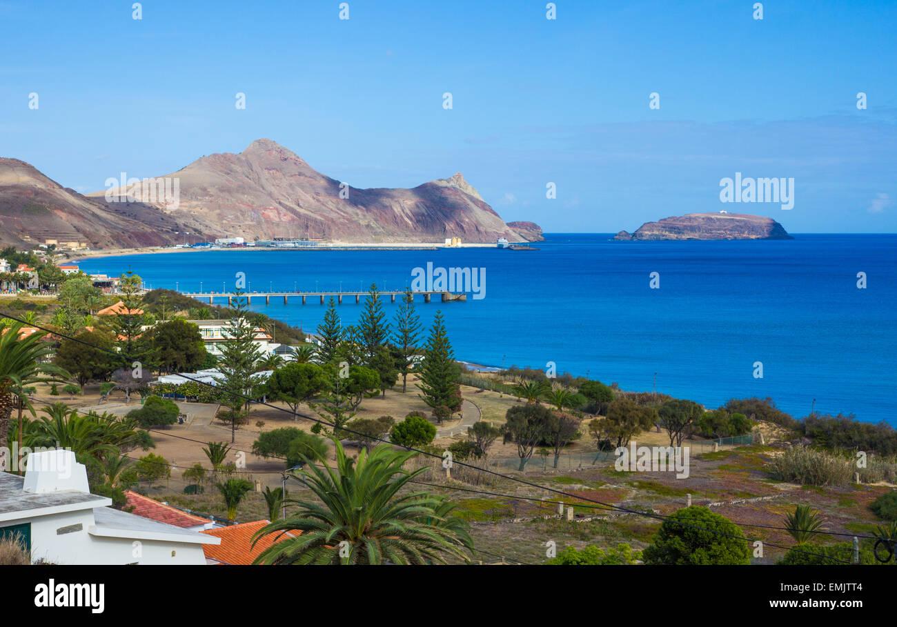 Porto Santo Bay - Stock Image