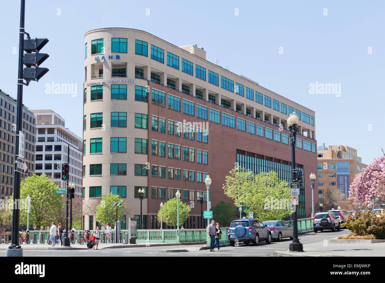National Association of Home Builders building - Washington, DC USA - Stock Image