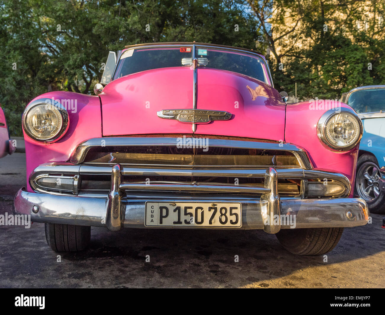 Pink Chevy Convertible High Resolution Stock Photography And Images Alamy