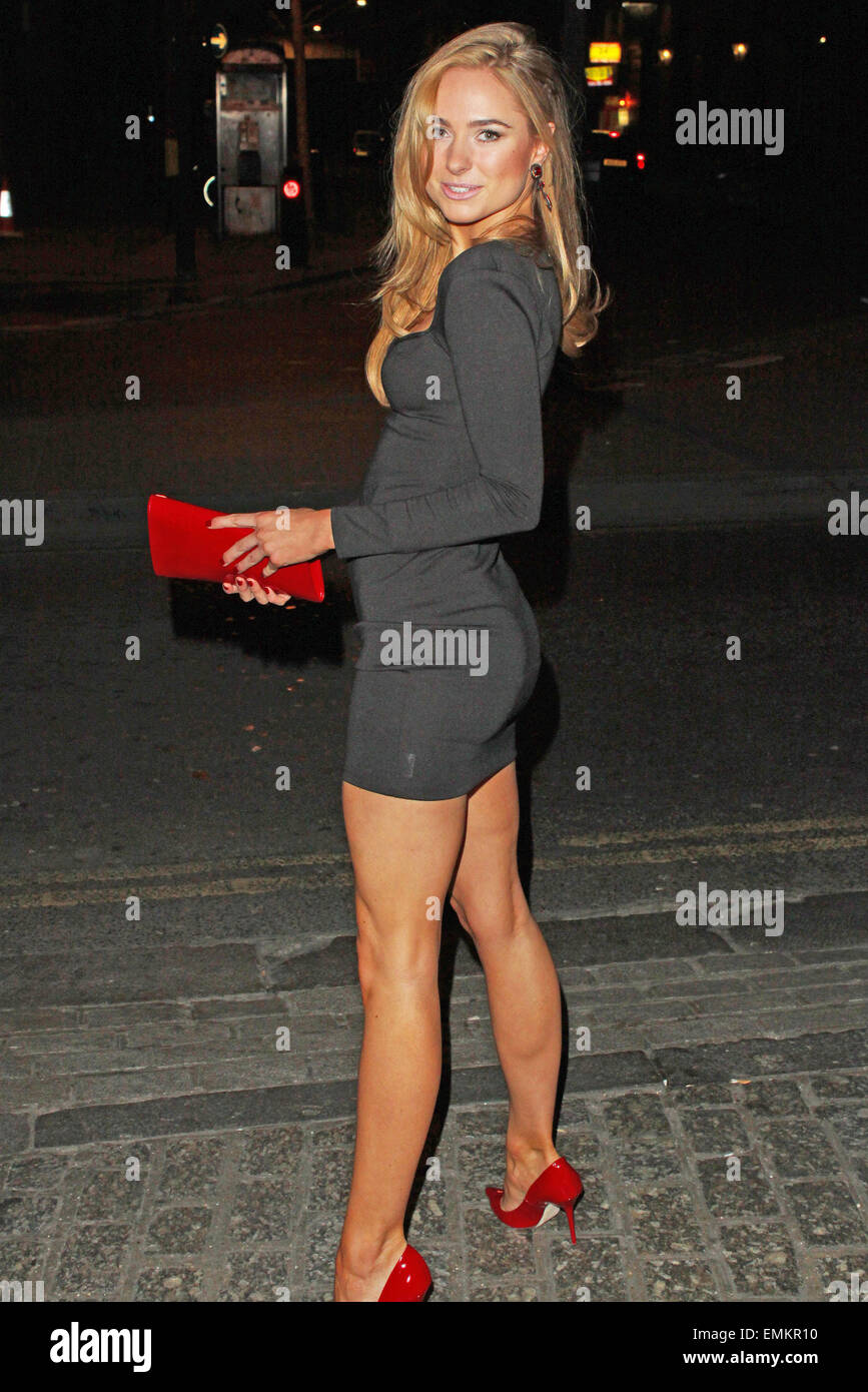05.MARCH.2013. LONDON  KIMBERLEY GARNER ATTENDS NEW MAGAZINES 10TH BIRTHDAY PARTY AT GILGAMESH BAR IN CAMDEN. - Stock Image