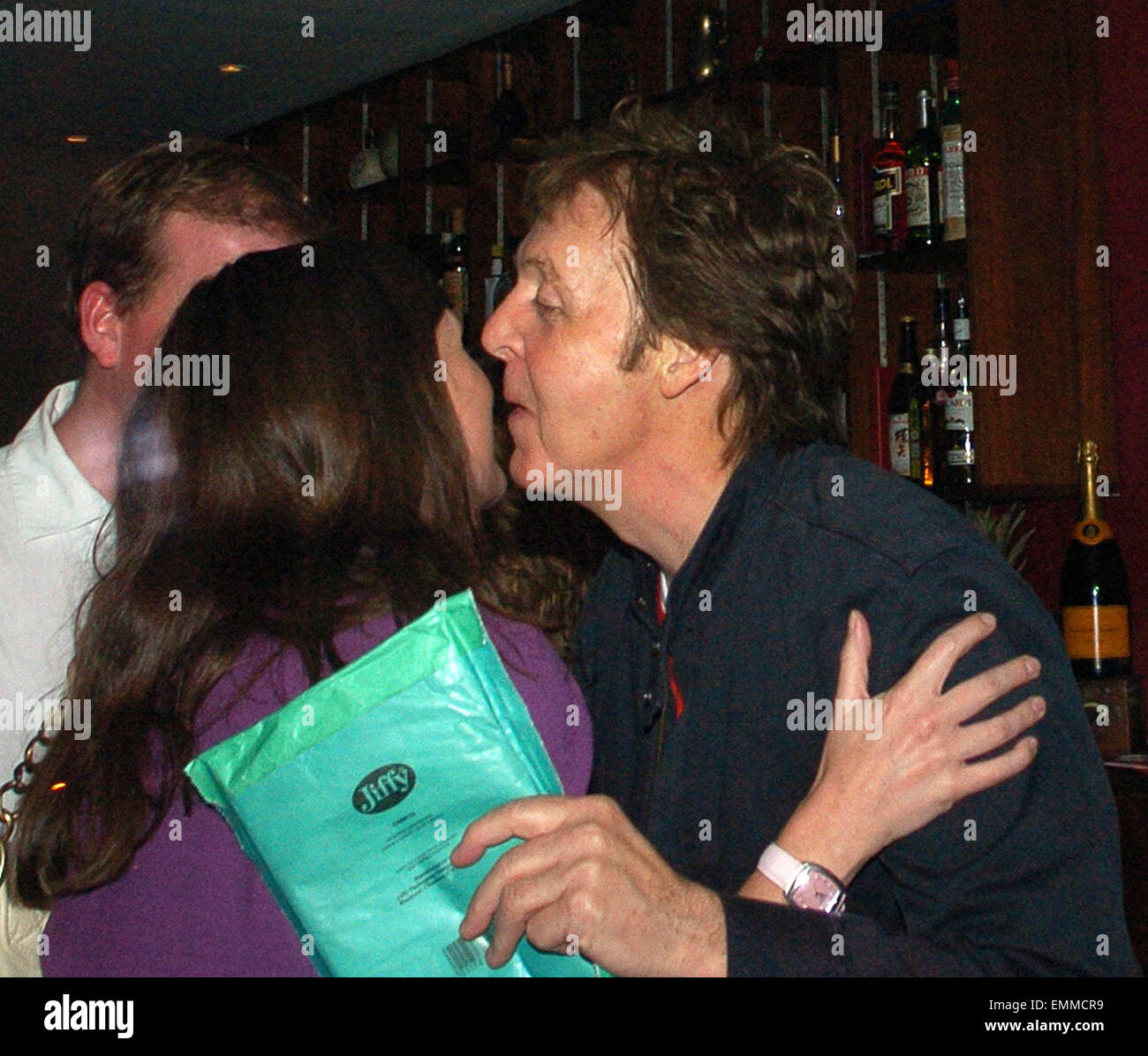 Image result for paul mccartney kissed