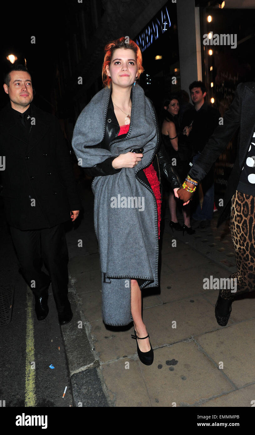 31march2011 London Pixie Geldof Leaving The D G Store After