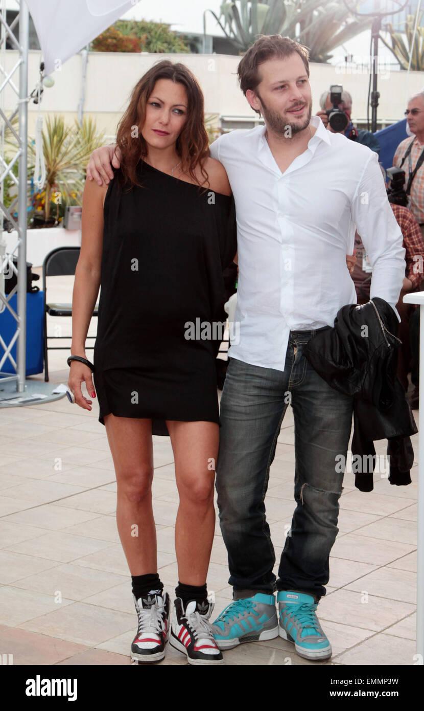 CANNES KAROLE ROCHER AND NICOLAS DUVAUCHELLE AT POLISSE PHOTOCALL FOR THE  64TH INTERNATIONAL CANNES FILM FESTIVAL
