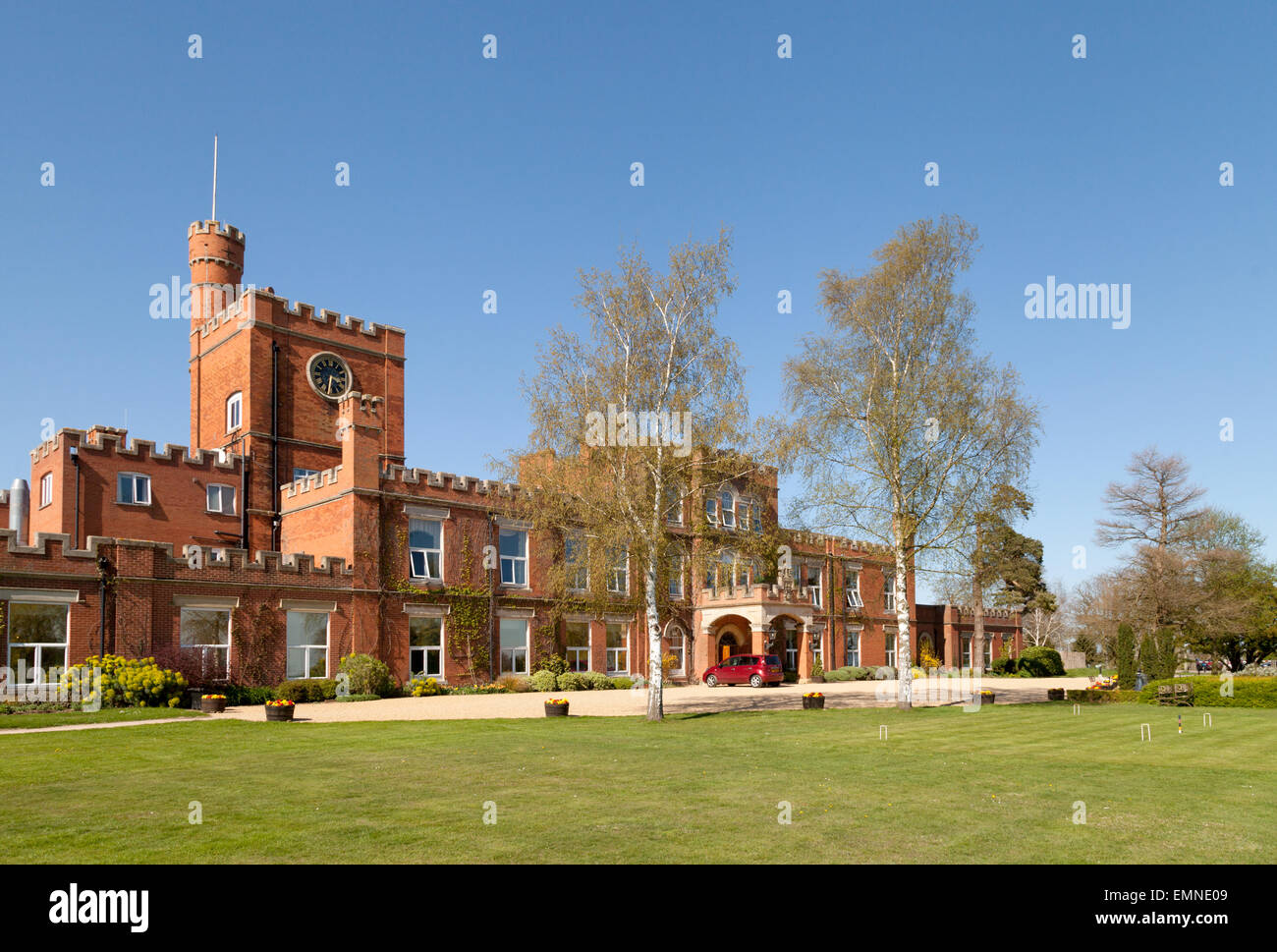 Ragdale Hall Health Hydro and Thermal Spa, Melton Mowbray, Leicestershire, UK - Stock Image