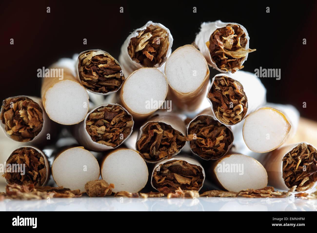 Quitting smoking - Stock Image