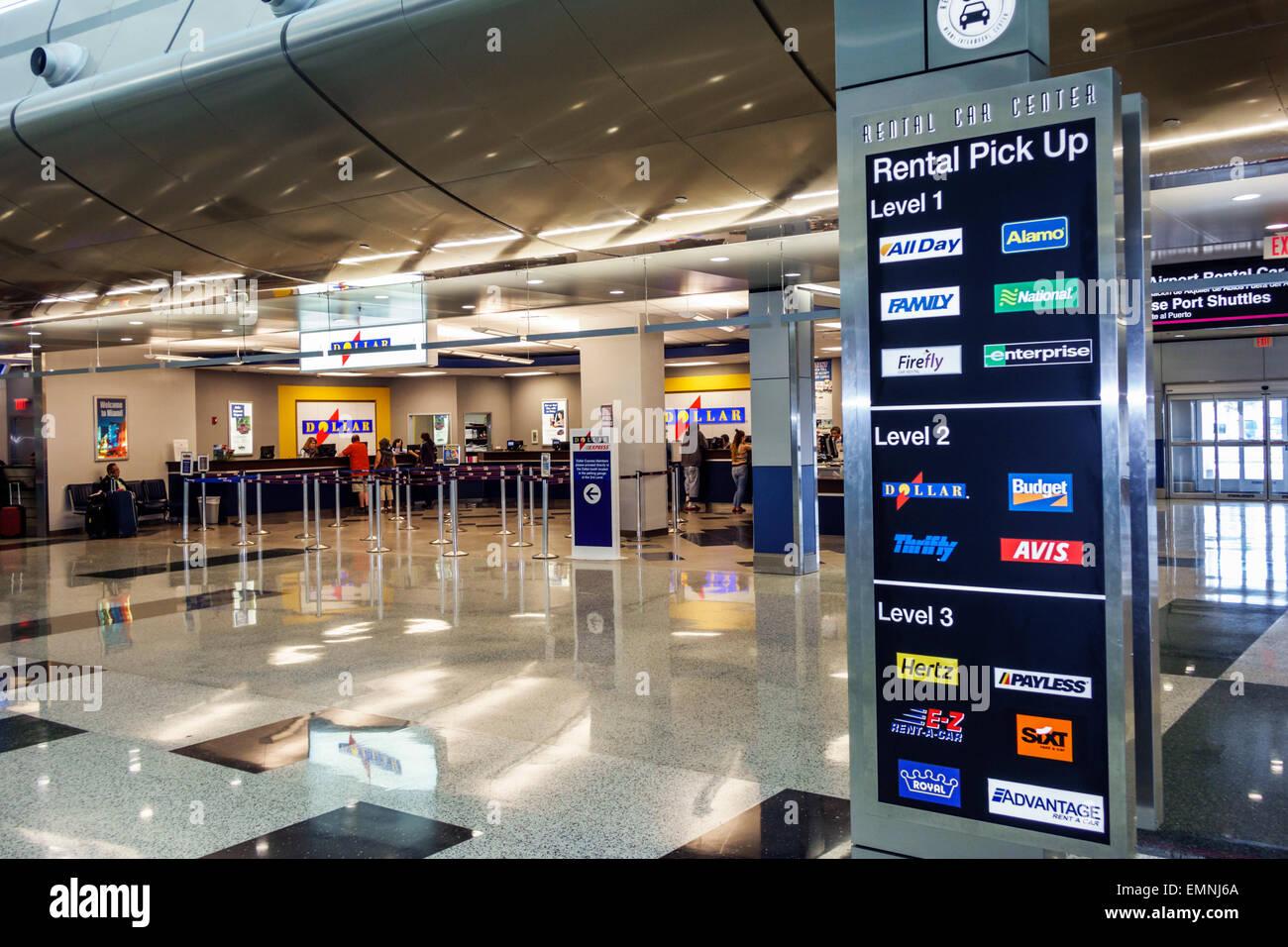 Miami Florida International Airport Mia Rental Car Center