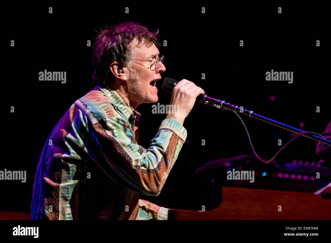 Detroit, Michigan, USA. 21st Apr, 2013. STEVE WINWOOD performing on his North American Tour at The Fillmore in Detroit, - Stock Image