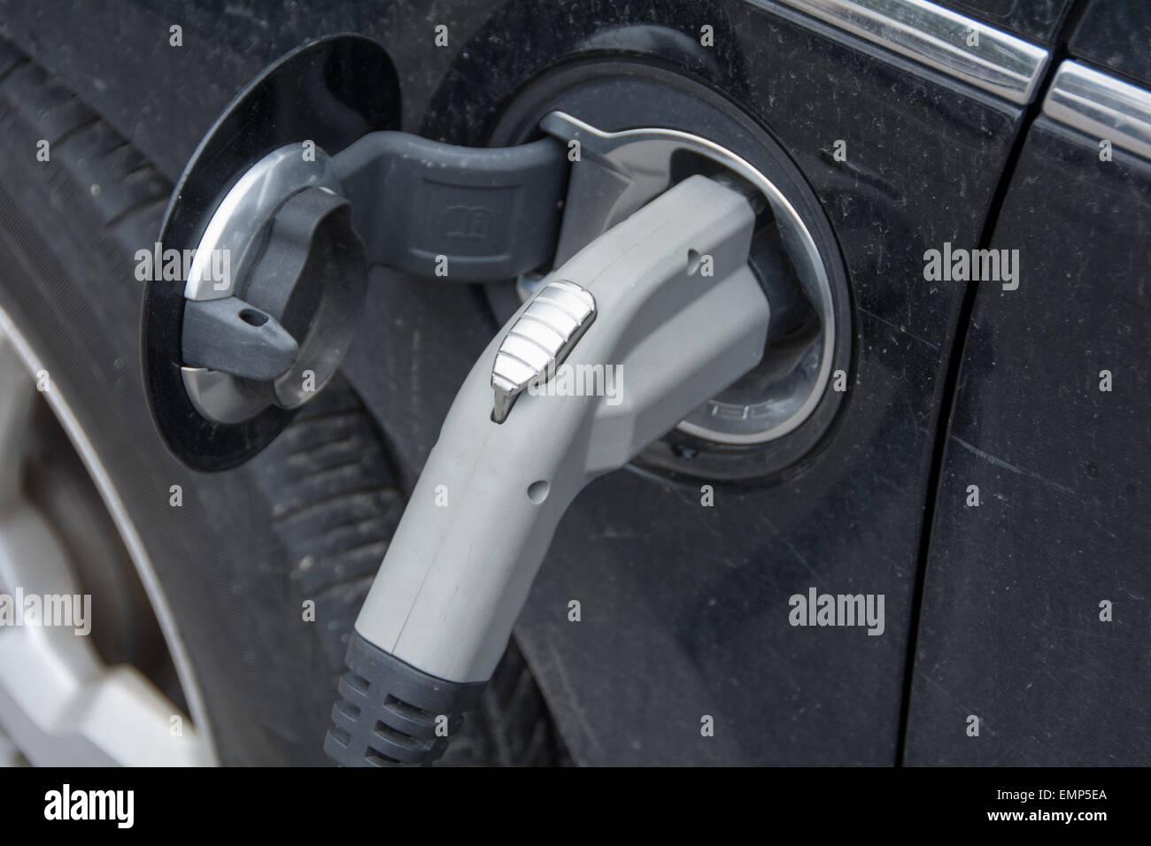 Electric Car Charging Port Stock Photos & Electric Car ...
