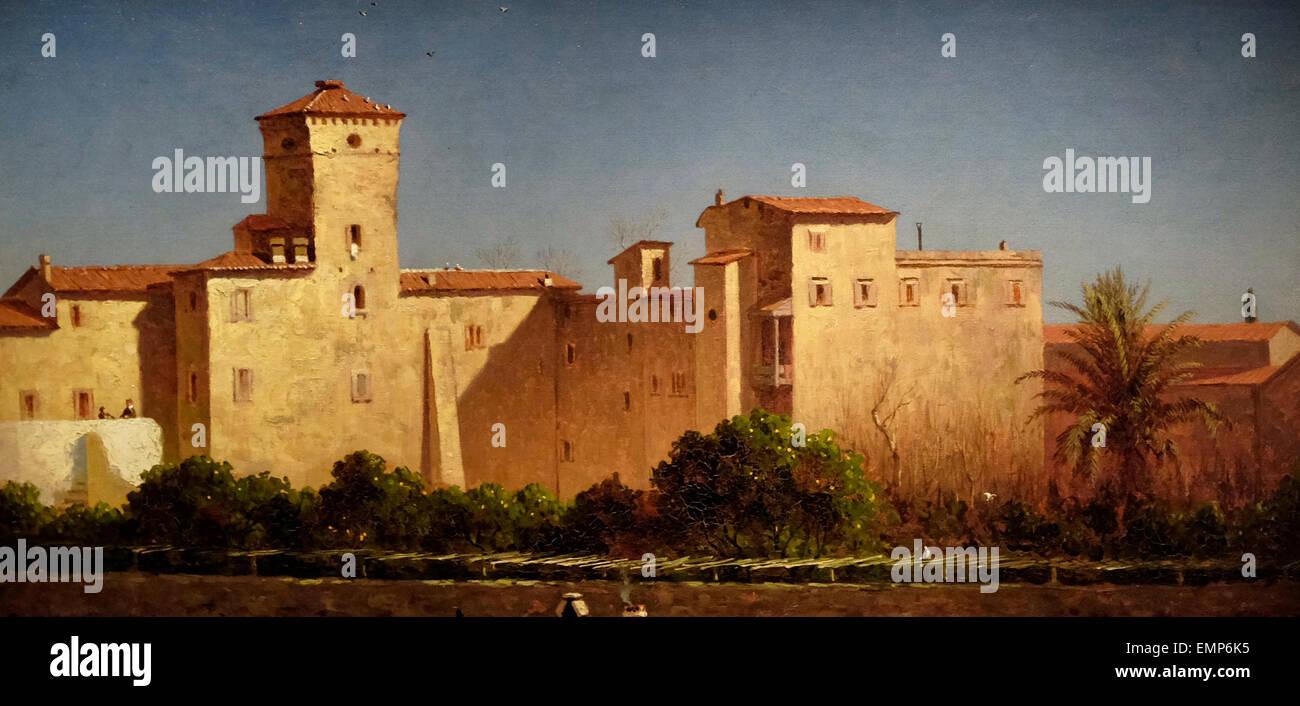 Villa Malta Rome, 1889, Sanford Robinson Griffith - Stock Image