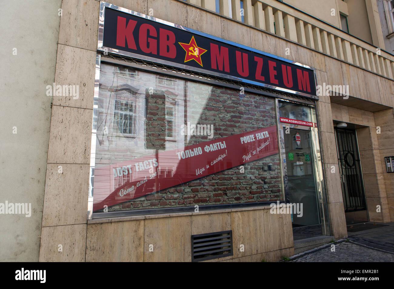 KGB museum, Lesser Town, Prague Czech Republic - Stock Image