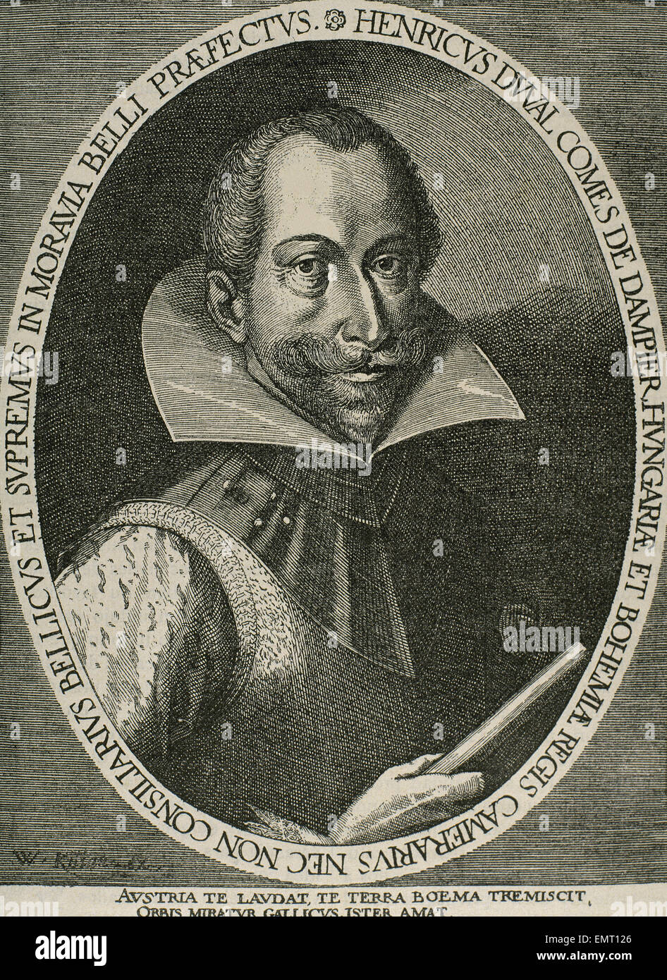 Heinrich Duval (1580-1620). Count of Dampierre. Marshall of the Imperial Army and Hofrath the beginnings of the - Stock Image