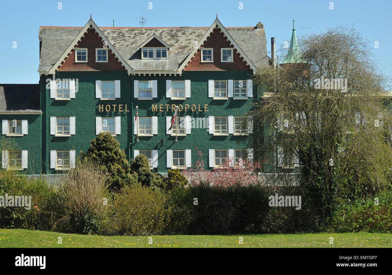The Metropole Hotel in Llandrindod Wells - Stock Image