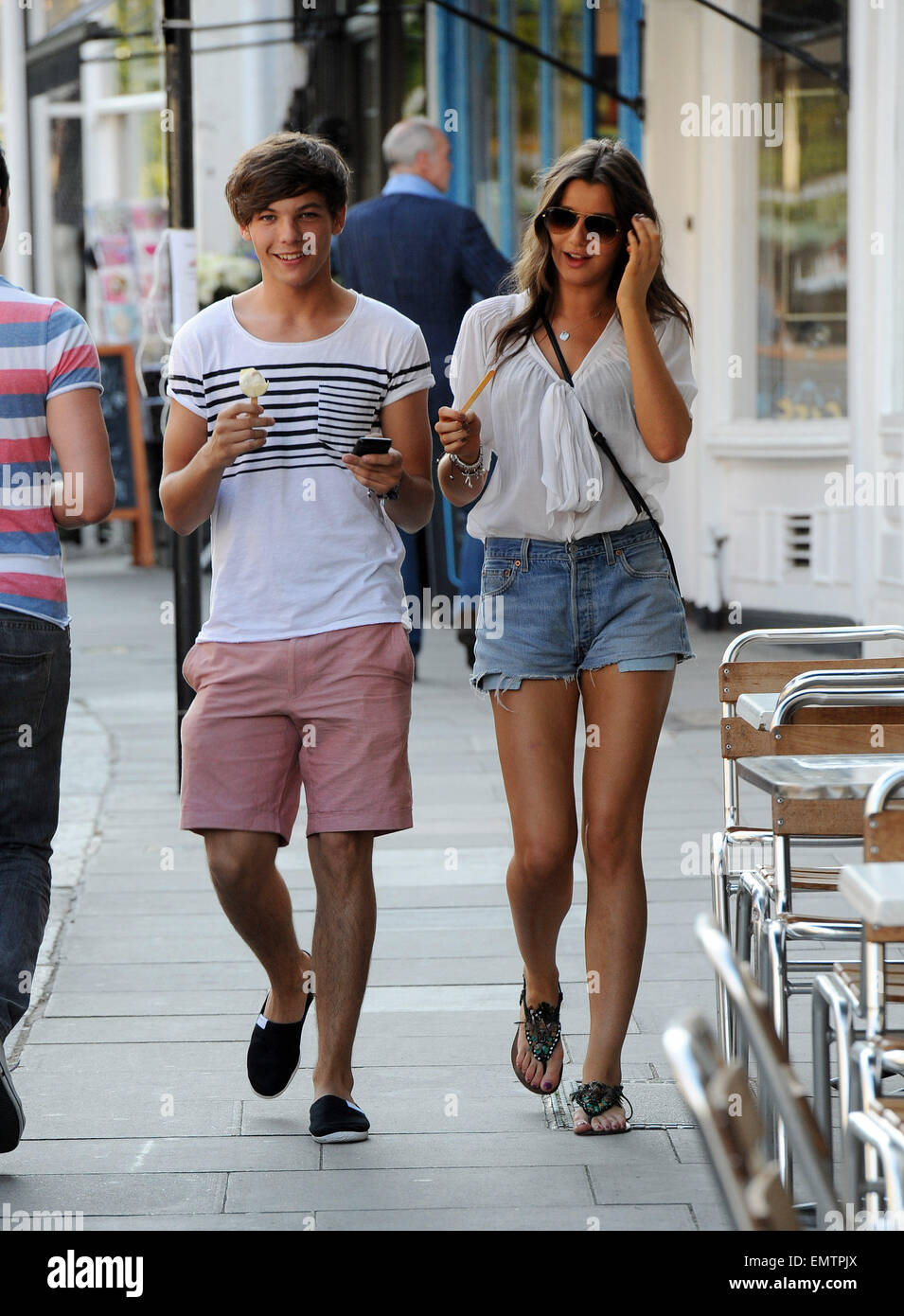 4b780c5f9577 SEPT.2011 LONDON LOUIS TOMLINSON FROM ONE DIRECTION AND NEW GIRLFRIEND  MODEL ELEANOR