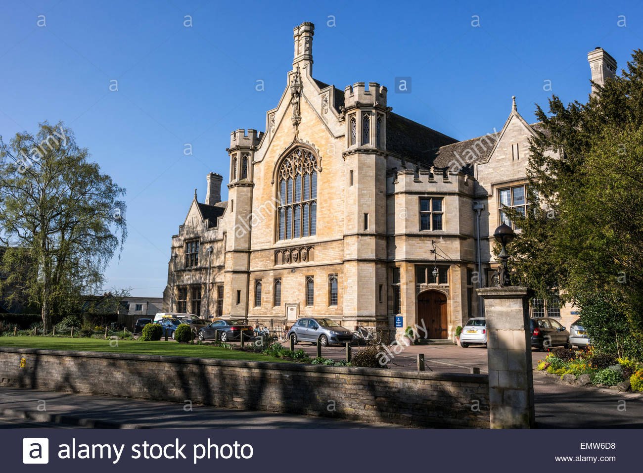 The Great Hall, Oundle School, Oundle, Northamptonshire, UK - Stock Image