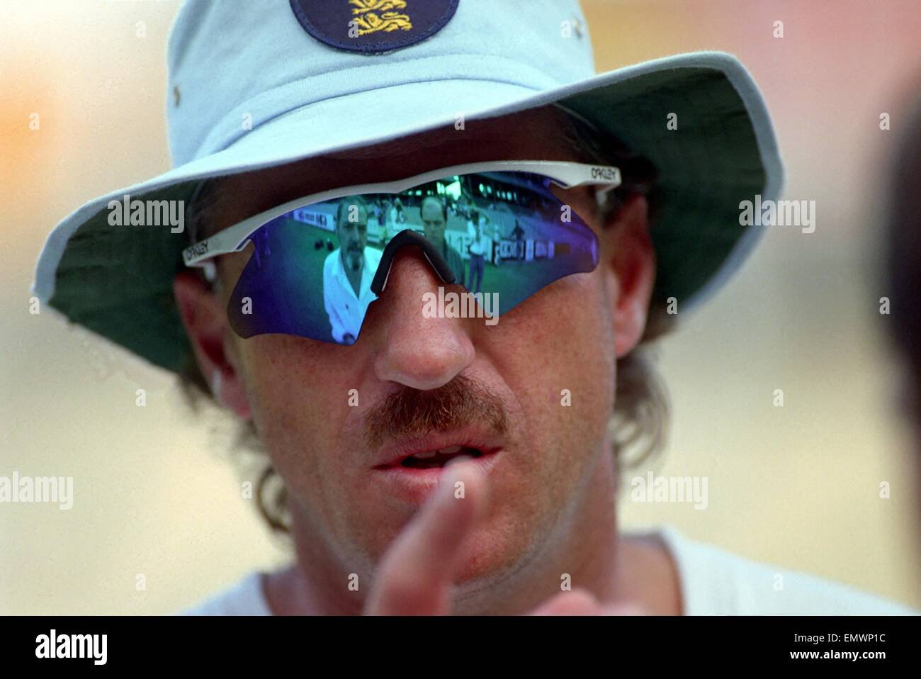Cricket World Cup 1992 - Australia: Ian Botham. March 1992 DM-1894-394 - Stock Image