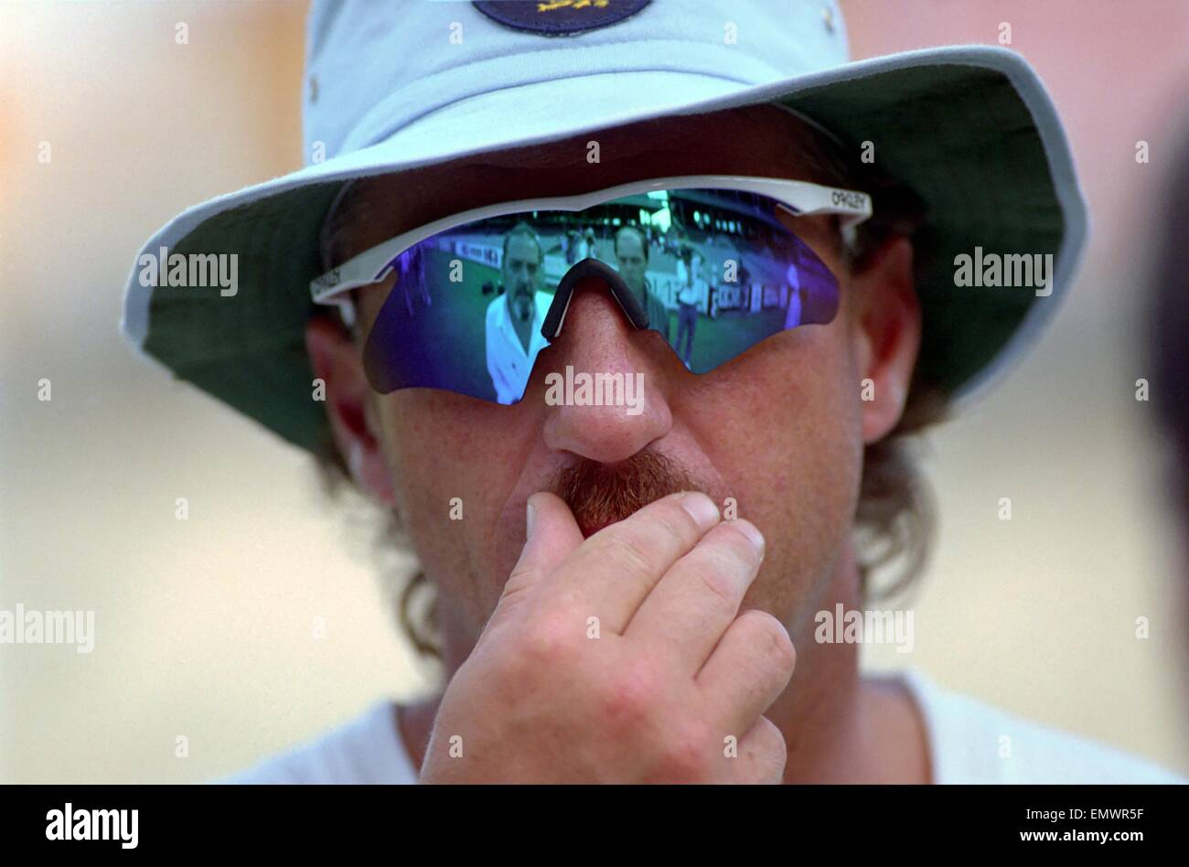 Cricket World Cup 1992 - Australia: Ian Botham. March 1992 DM-1894-398 - Stock Image
