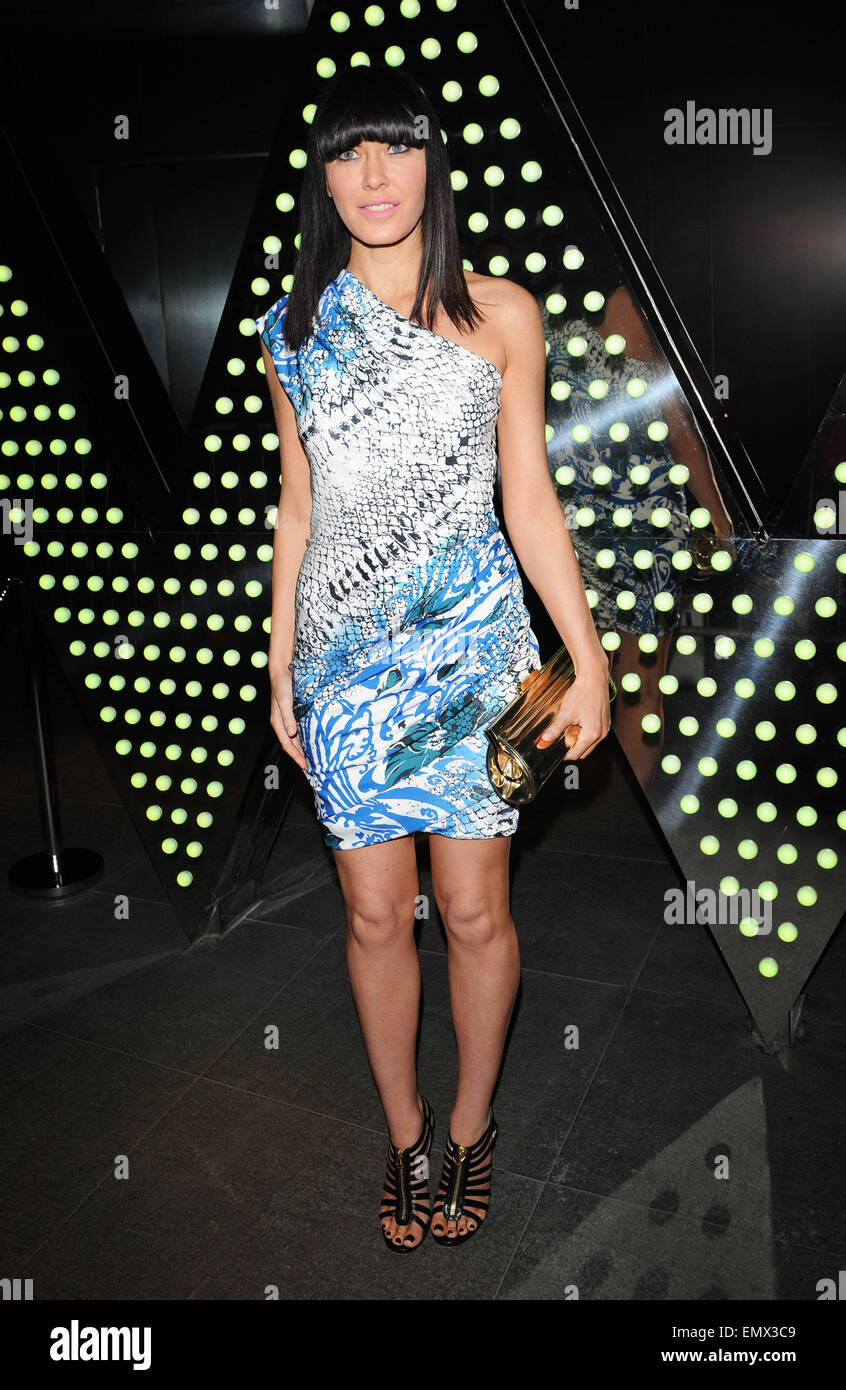 16.MARCH.2011. LONDON  LINZI STOPPARD ATTENDING THE W HOTEL LONDON LAUNCH PARTY IN LEICESTER SQUARE, CENTRAL LONDON - Stock Image