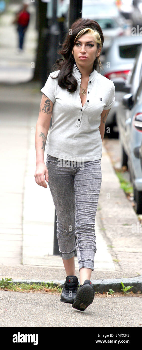 12 July 2011 London Singer Amy Winehouse Out And About In Camden Town In London Amy Winehouse 27 Was Found Dead At Her London Flat The Singer Was Apparently Found At 4pm And Her