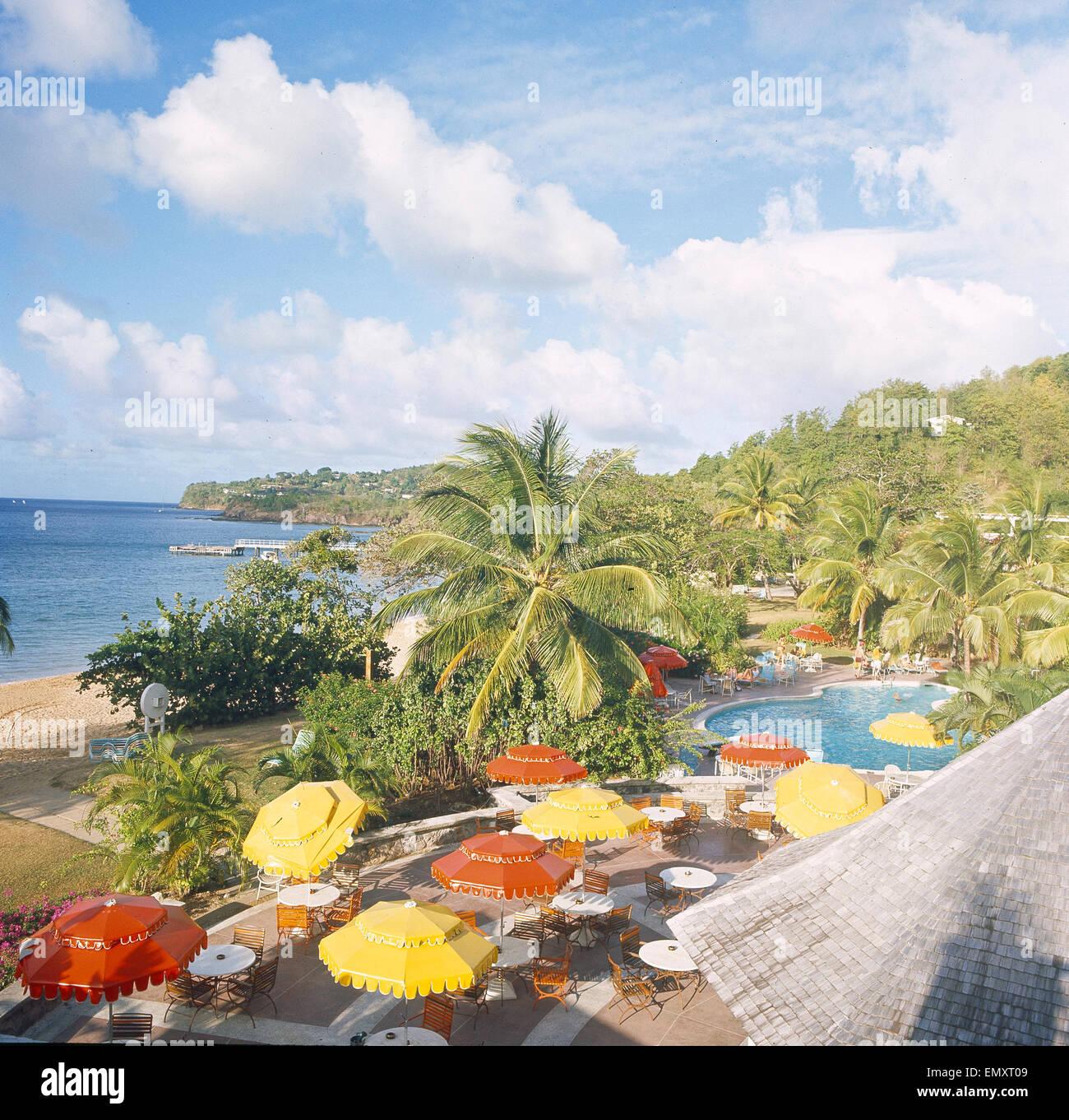 St.Lucia, La-Toc - Stock Image
