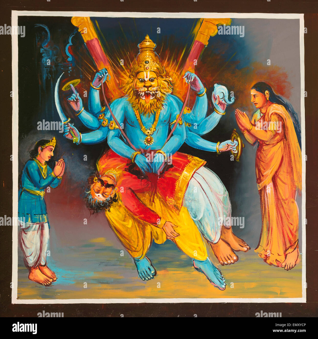 Lord Narasimha Stock Photos & Lord Narasimha Stock Images