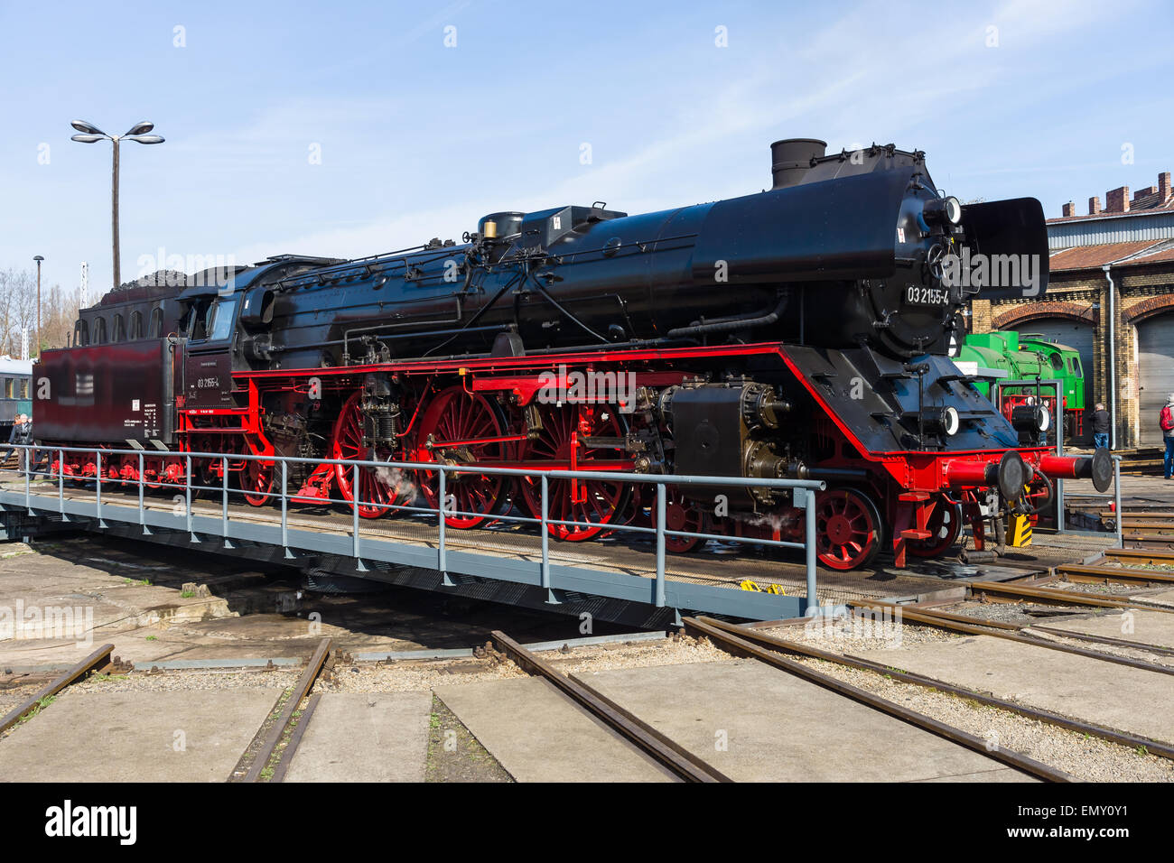 Steam locomotive Borsig 03 2155-4 (DRG Class 03)