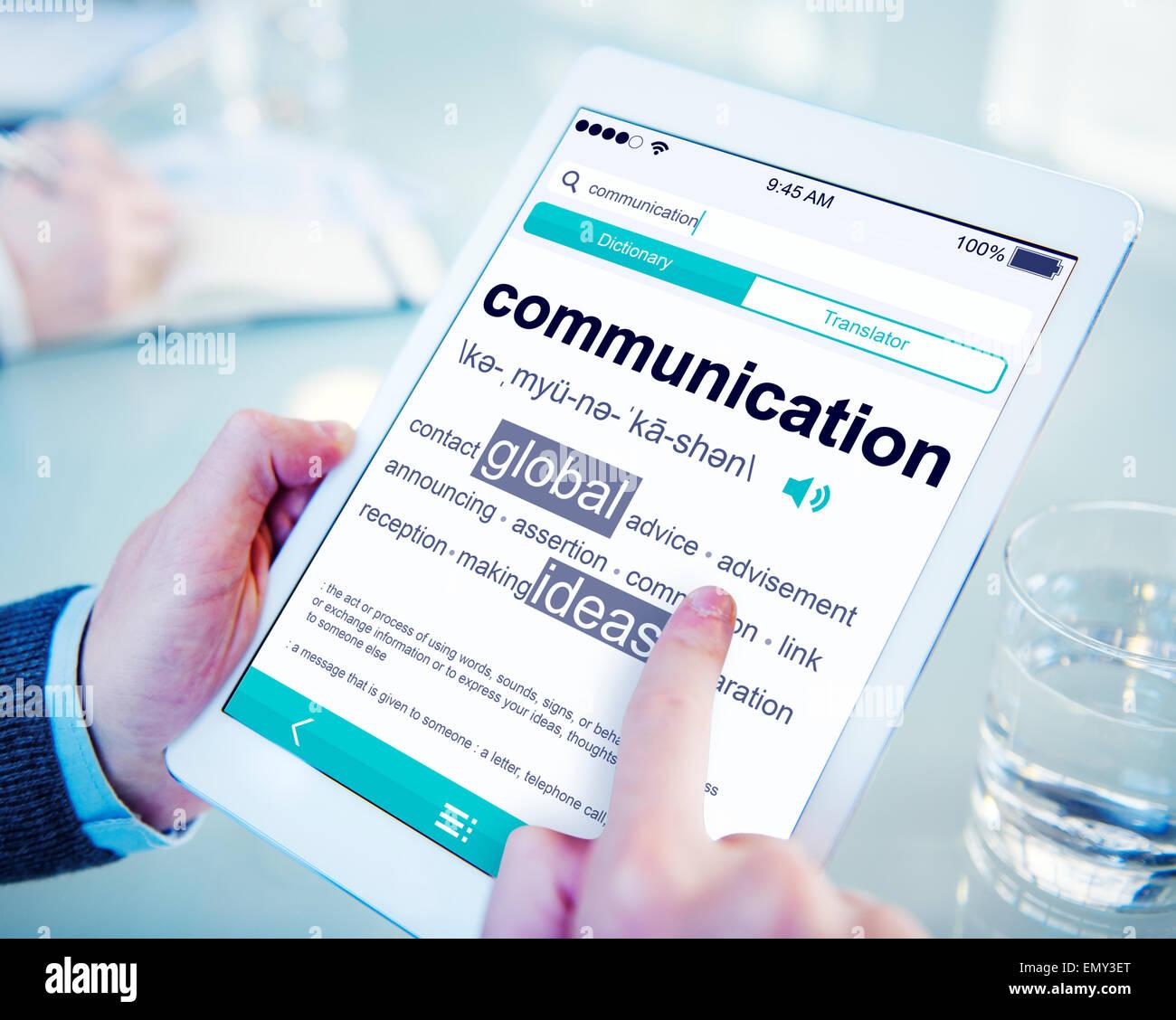 reading communication definition