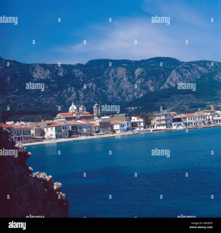 Eine Reise nach Samos, Griechenland 1980er Jahre. Trip to Samos, Greece 1980s. - Stock Image