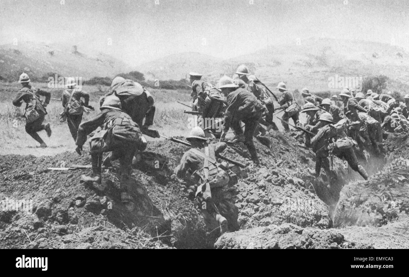 Gallipoli campaign - Stock Image