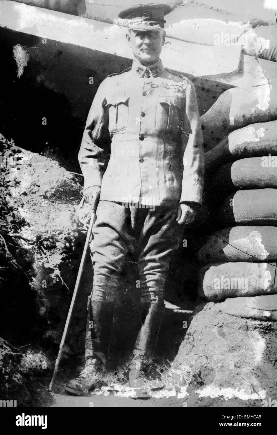 Field Marshal William Riddell Birdwood, 1st Baron Birdwood (1865 -1951), a British general who served as commander - Stock Image