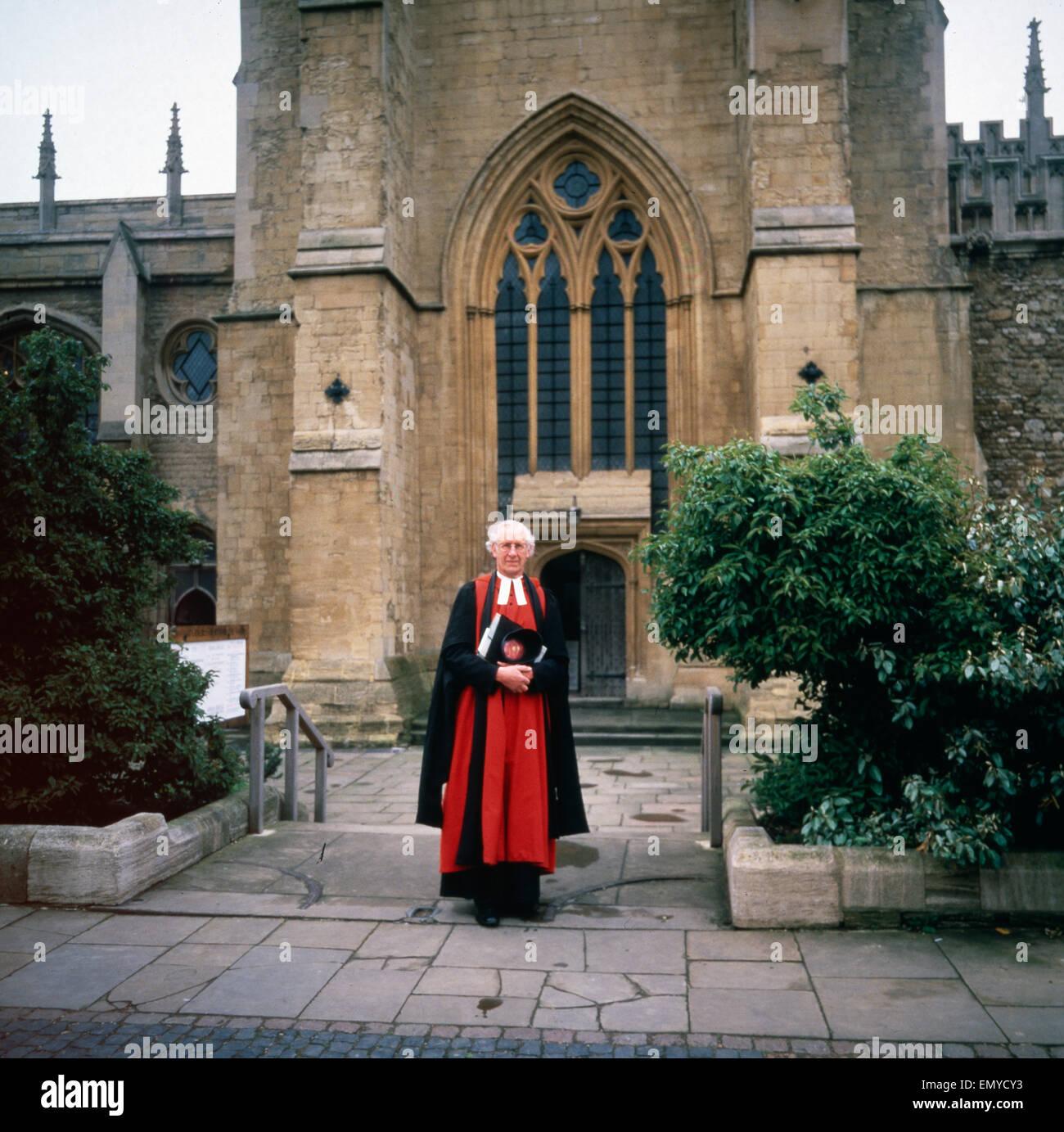 Eine Reise nach Oxford, England 1980er Jahre. A trip to Oxford, England 1980s. Stock Photo