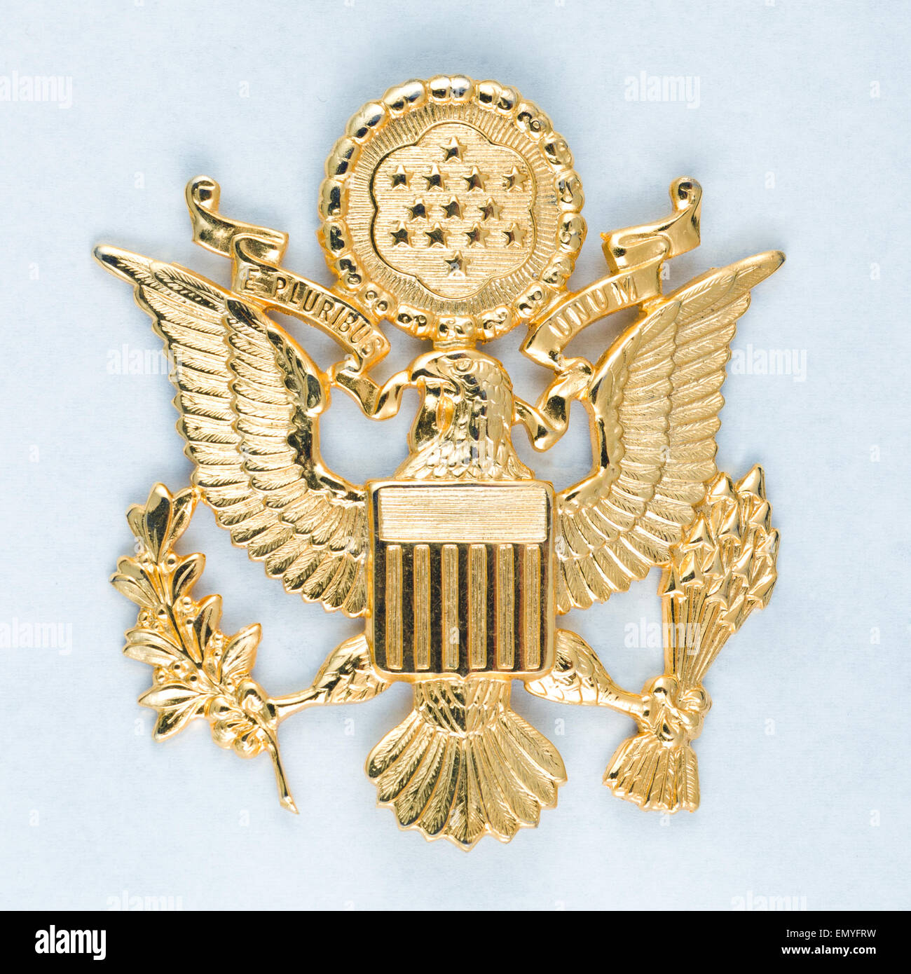 USA - 2013 - The great seal of the United States of America, Gol - Stock Image