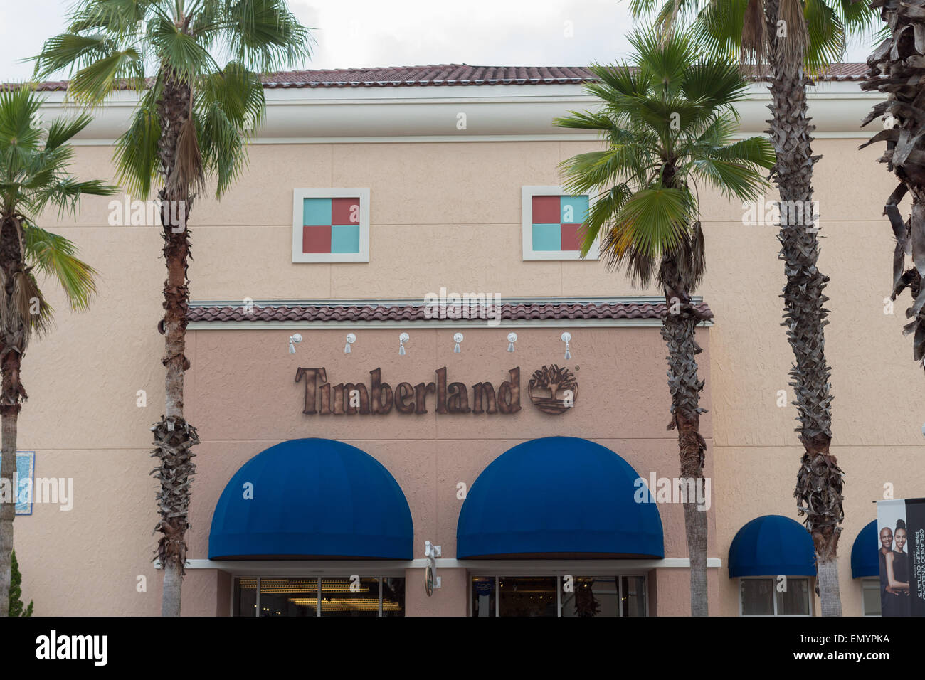 Timberland at Orlando Premium Outlet Shopping Mall at