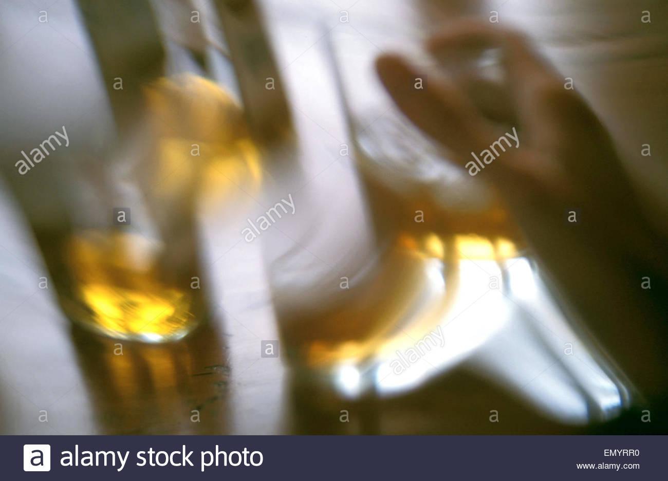 Alcohol - Stock Image