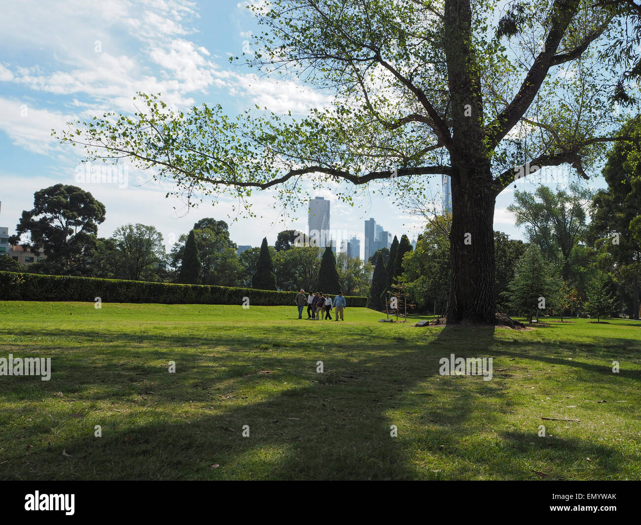 Shrine of Remembrance, Melbourne, Victoria, Australia - Stock Image
