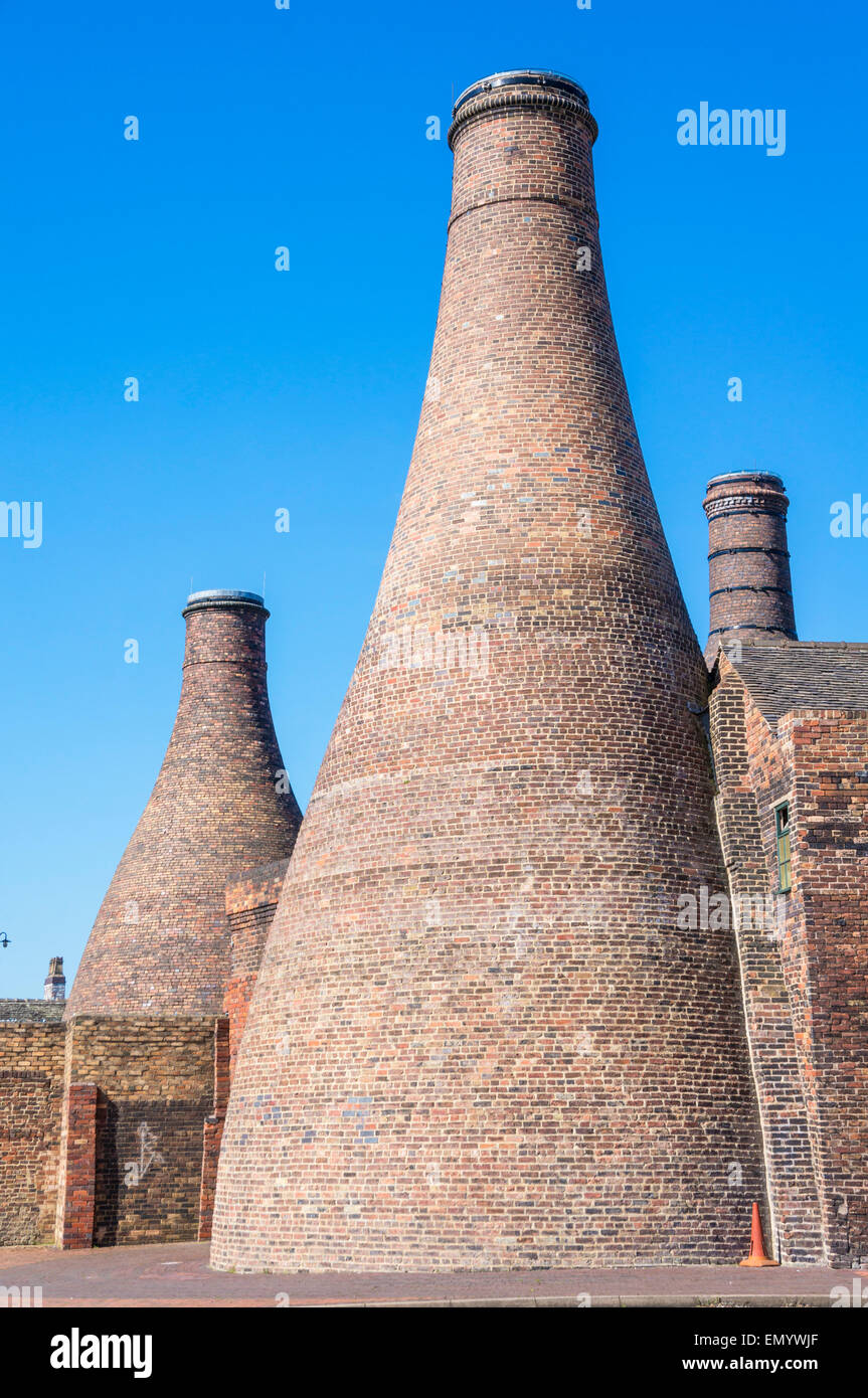 Gladstone Pottery Museum Stoke on Trent Staffordshire England GB UK EU Europe Stock Photo