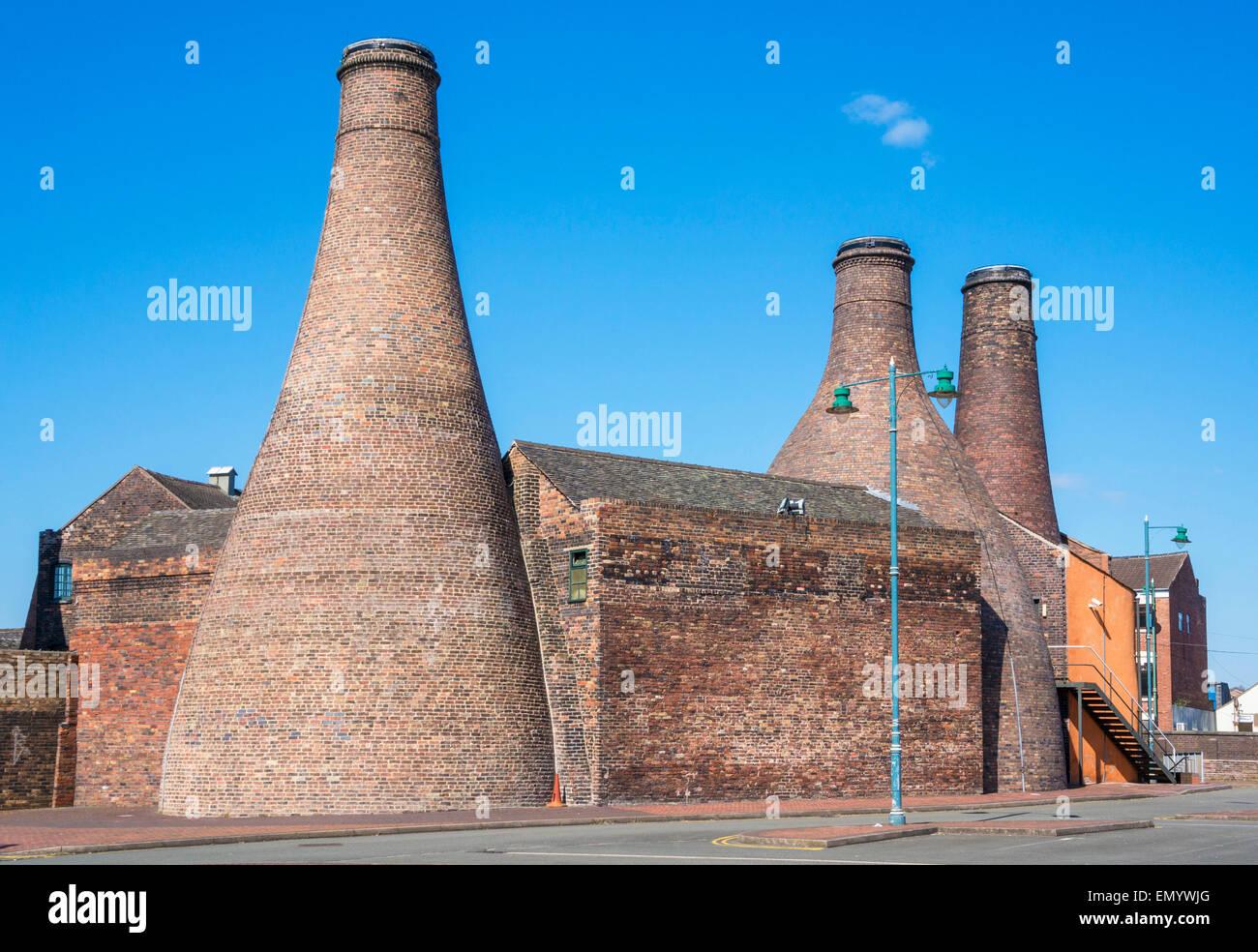 Gladstone Pottery Museum Stoke on Trent Staffordshire England GB UK EU Europe - Stock Image