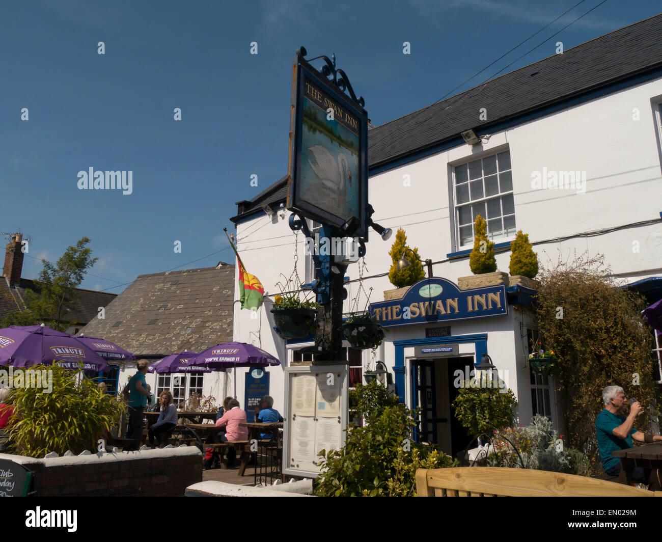 europe, uk, england, devon, Lympstone Exe estuary - Stock Image