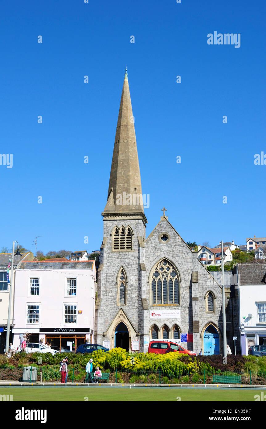 The Strand Church (United Reformed), Dawlish, Devon, England, UK - Stock Image