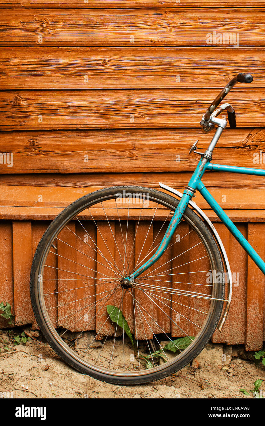 Vintage bicycle - Stock Image