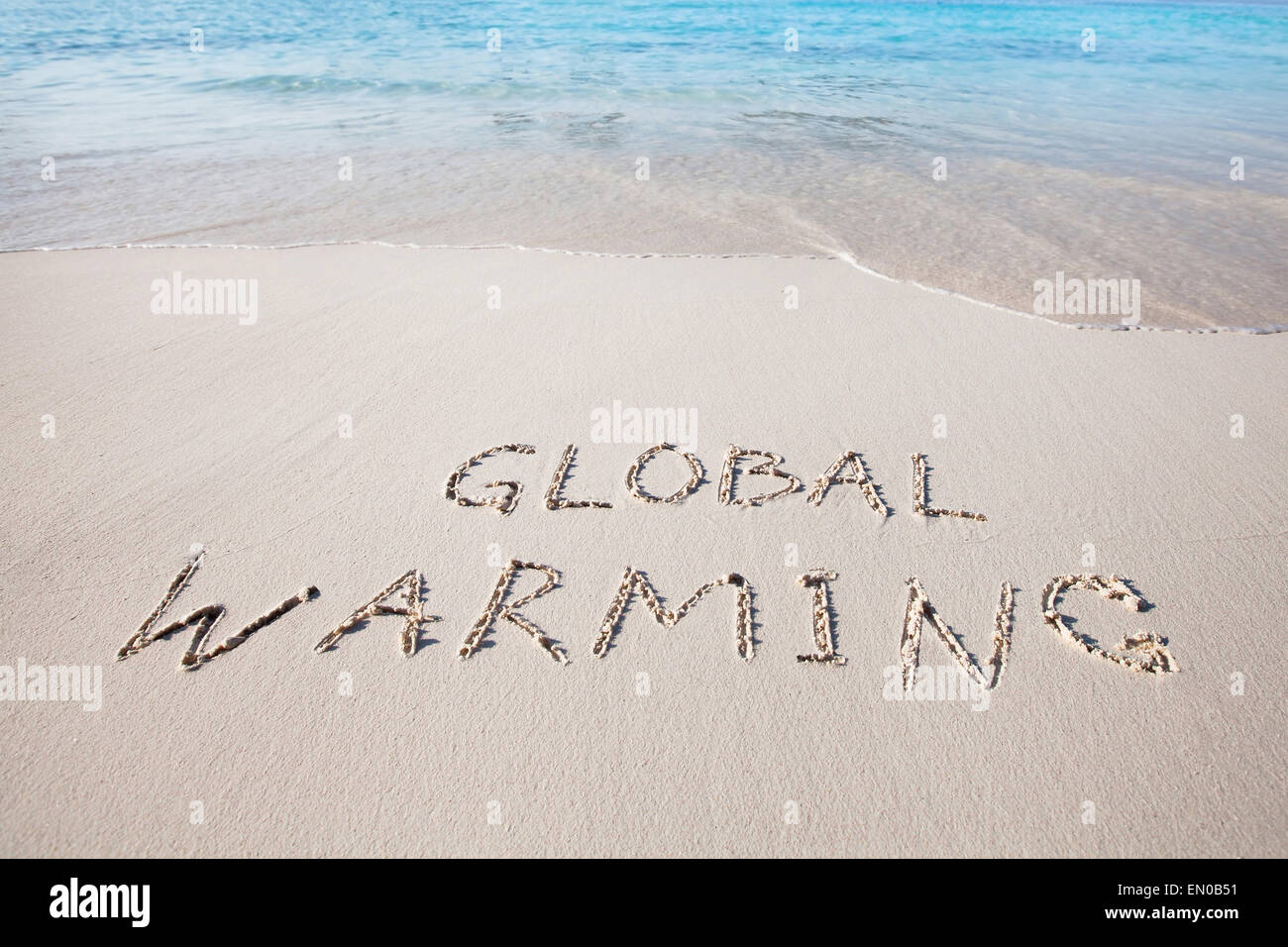 global warming concept - Stock Image