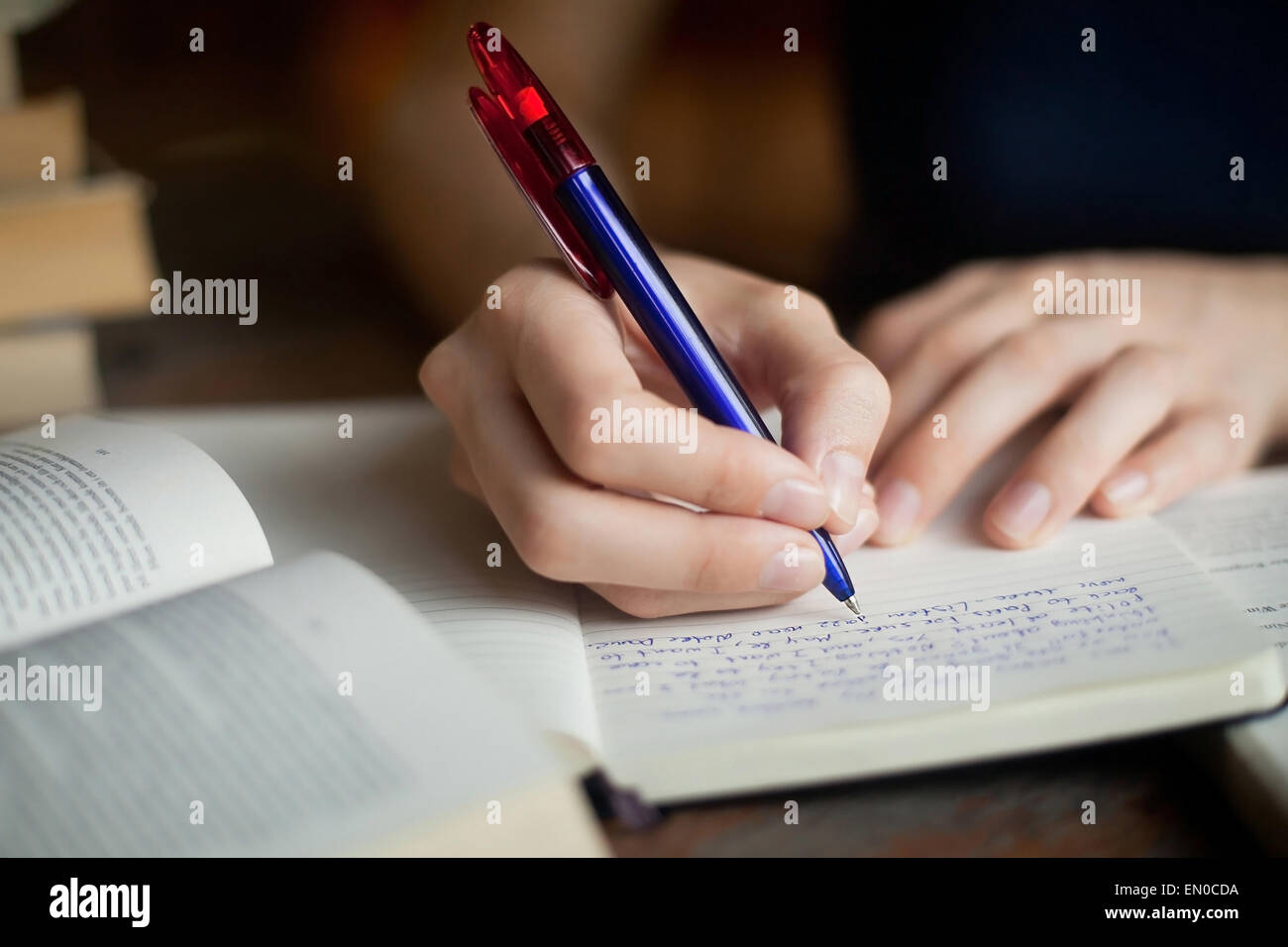 learning literature - Stock Image