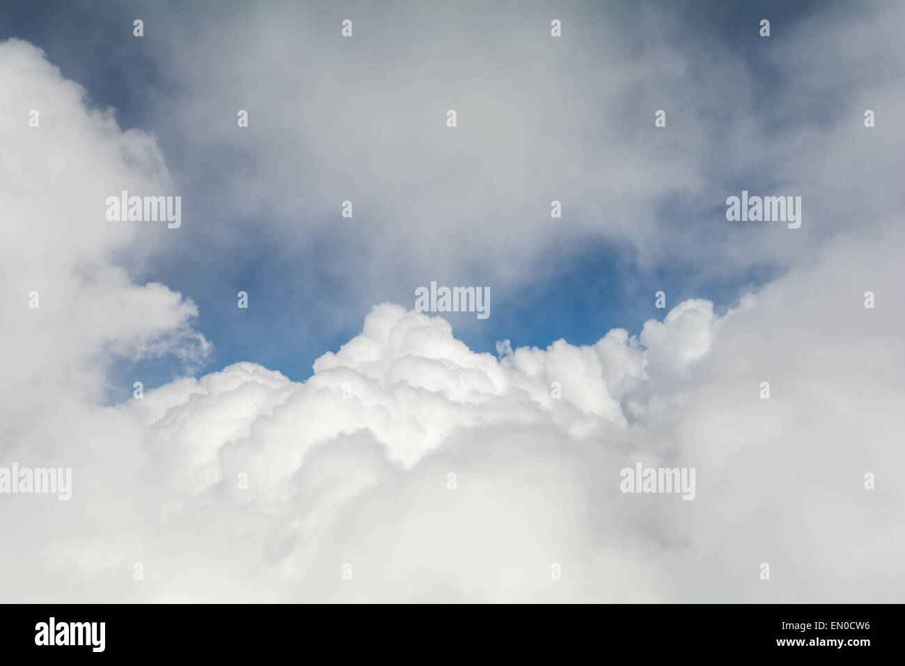Texture of clouds with space for text - Stock Image